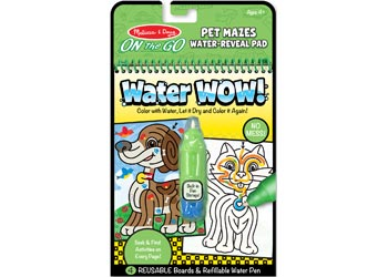 On The Go – Water WOW! – Pet Mazes