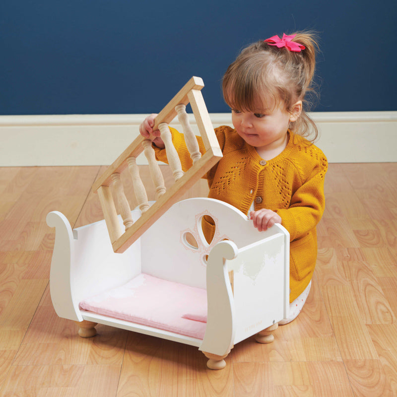 Sleigh Cot by Le Toy Van