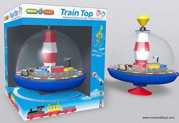 Spinning Top -Train with Sound 19cm