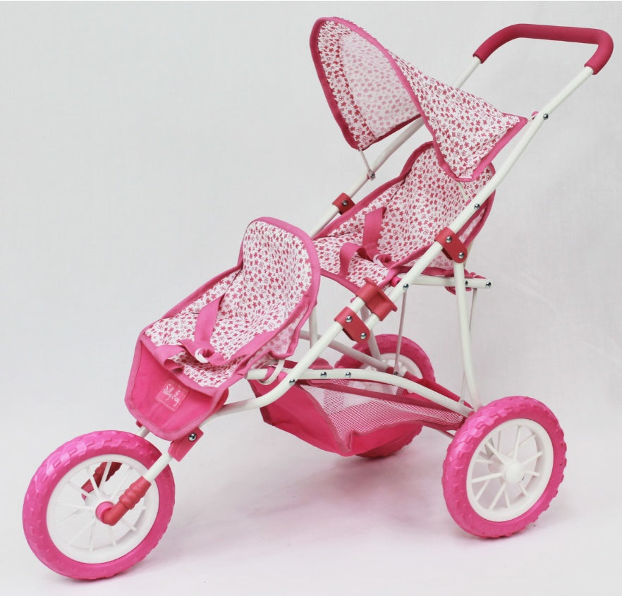 Sally Fay Double Hooded Stroller