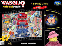 Wasgij Original Puzzle #1 Sunday Drive 20th Anniversary 1000pc