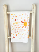 Load image into Gallery viewer, You Are My Sunshine Tea Towel