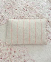 Load image into Gallery viewer, Pink Stripe Lumbar Pillow
