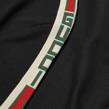 Load image into Gallery viewer, Gucci- Cotton polo with Gucci stripe