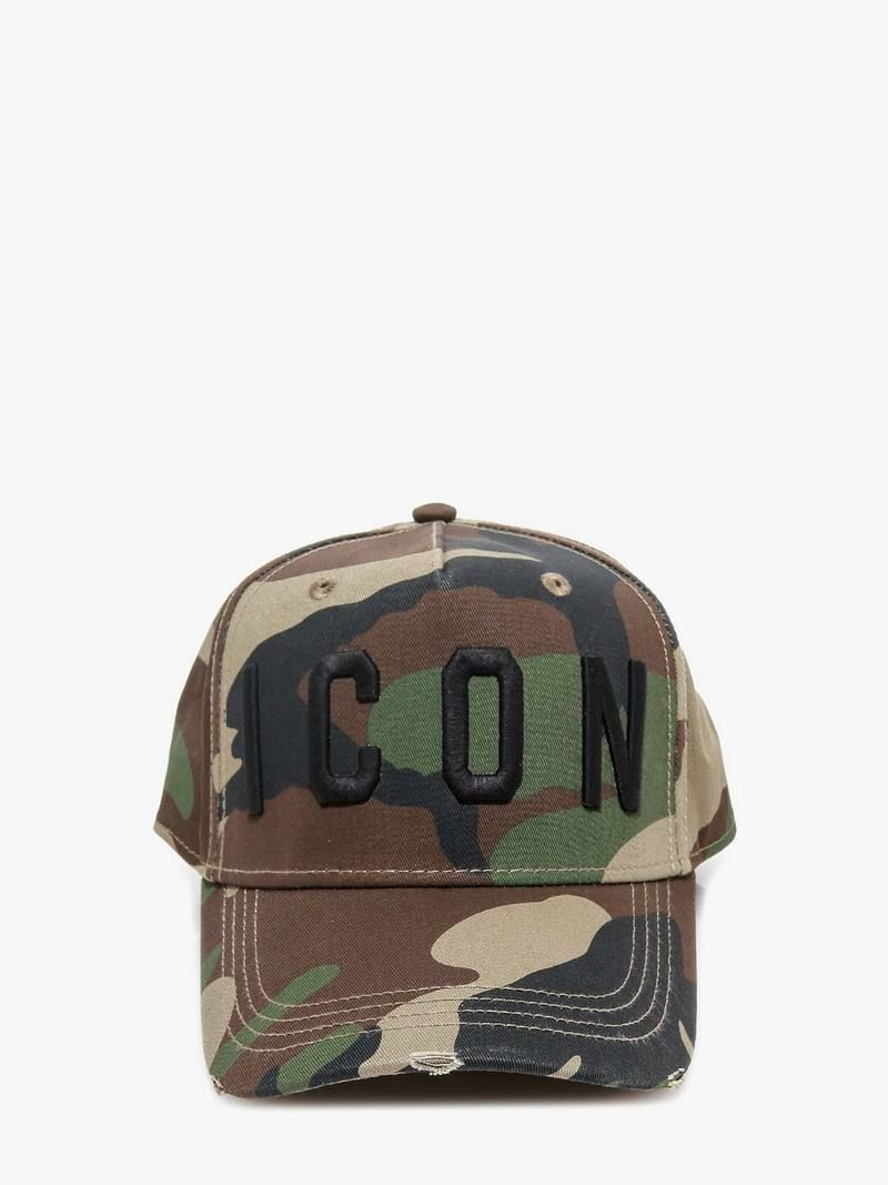 Dsquared2 Cap in Camo