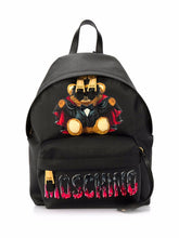 Load image into Gallery viewer, MOSCHINO BAT TEDDY BEAR BACKPACK
