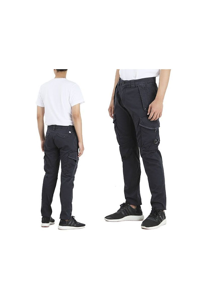CP COMPANY - CARGO BOTTOMS NAVY BLUE