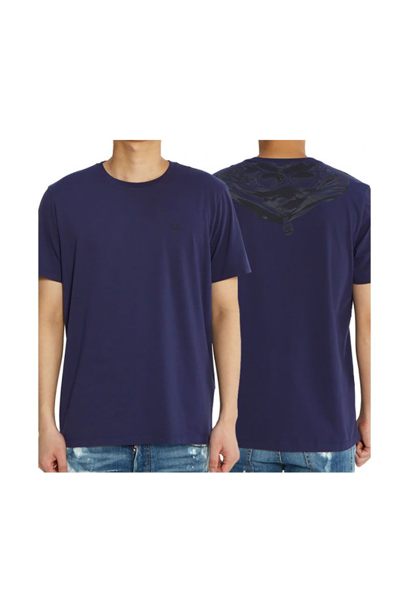 CP COMPANY - PURPLE TEE
