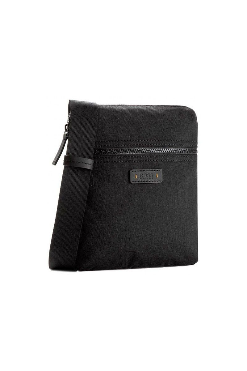 Hugo Boss - SATURN R_S ZIP BAG - BLACK