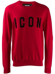 DSQUARED2 ICON KNIT RED