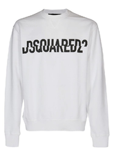 Load image into Gallery viewer, Dsquared2 White Sweater