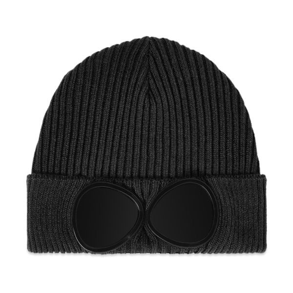 CP Company Knit Hat in Black