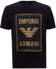 Load image into Gallery viewer, EMPORIO ARMANI GOLD LOGO T-SHIRT