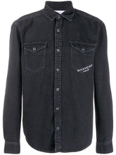 Load image into Gallery viewer, GIVENCHY DENIM SHIRT PARIS STAMP