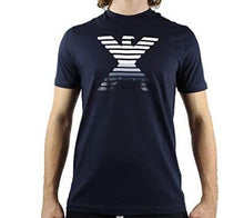 Load image into Gallery viewer, EMPORIO ARMANI T-SHIRT LOGO NAVY