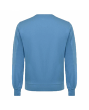 Load image into Gallery viewer, C.P. COMPANY CREW NECK SWEATER-BLUE