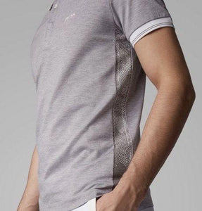 HUGO BOSS POLO SHIRT-GREY