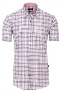Hugo Boss-SHIRT-PINK / RED