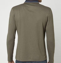Load image into Gallery viewer, Hugo Boss-LONG SLEEVE POLO SHIRT-GREEN / NAVY