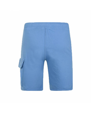 Load image into Gallery viewer, C.P. Company Lens Cotton Shorts - Blue