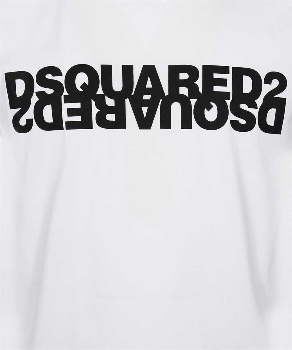 DSQUARED2 - DOUBLE LOGO T-SHIRT - WHITE