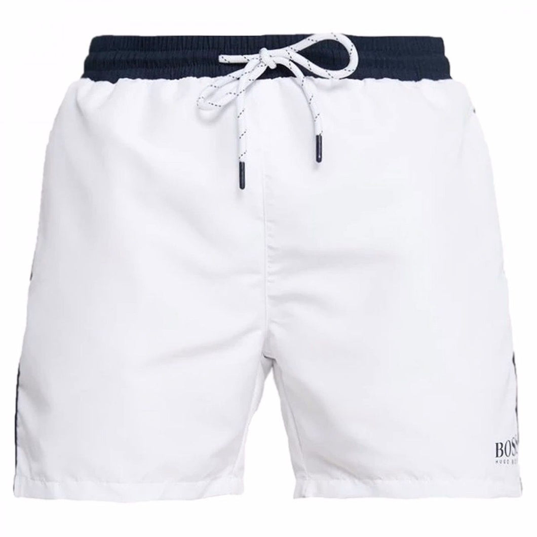 Hugo Boss - STARFISH SHORTS - WHITE/NAVY