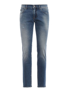 DOLCE & GABBANA - WASHED JEANS