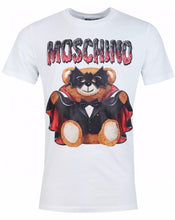 Load image into Gallery viewer, MOSCHINO BAT TEDDY BEAR T-SHIRT -WHITE