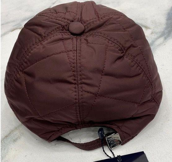PAUL & SHARK - QUILTED CAP - DEEP RED
