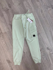 C.P. COMPANY-LENS JOGGERS-LIGHT GREEN