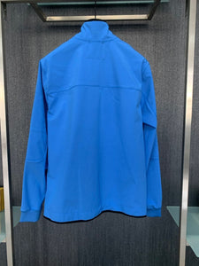 C.P. COMPANY - SOFT SHELL JACKET - BLUE