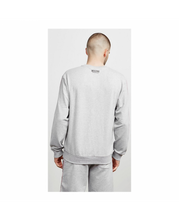 Load image into Gallery viewer, MOSCHINO TAPE CREW NECK SWEATER IN GREY