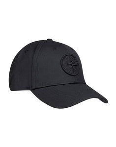 STONE ISLAND - HAT IN BLACK