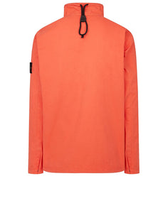 STONE ISLAND - T.CO+OLD OVERSHIRT IN ORANGE RED