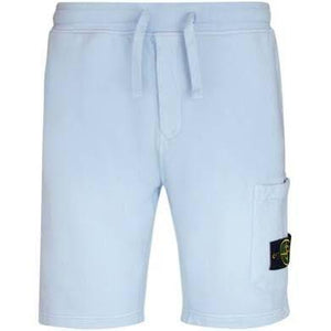 Stone Island Side Pocket Shorts -Light Blue
