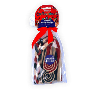 Rosewood Rawhide Free Bumper Gift Bag for Dogs, 280 g