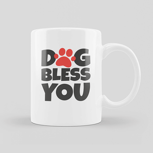 Dog Bless You Mug