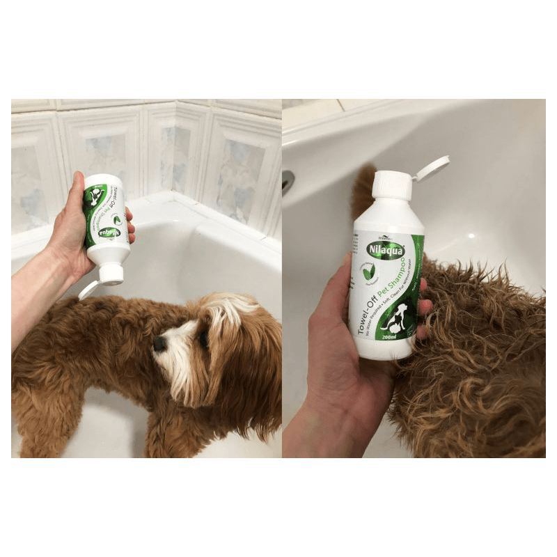 Nilaqua 'Towel Off' Pet Shampoo 200 ML