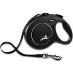 Load image into Gallery viewer, Flexi New Classic Tape Leash Black
