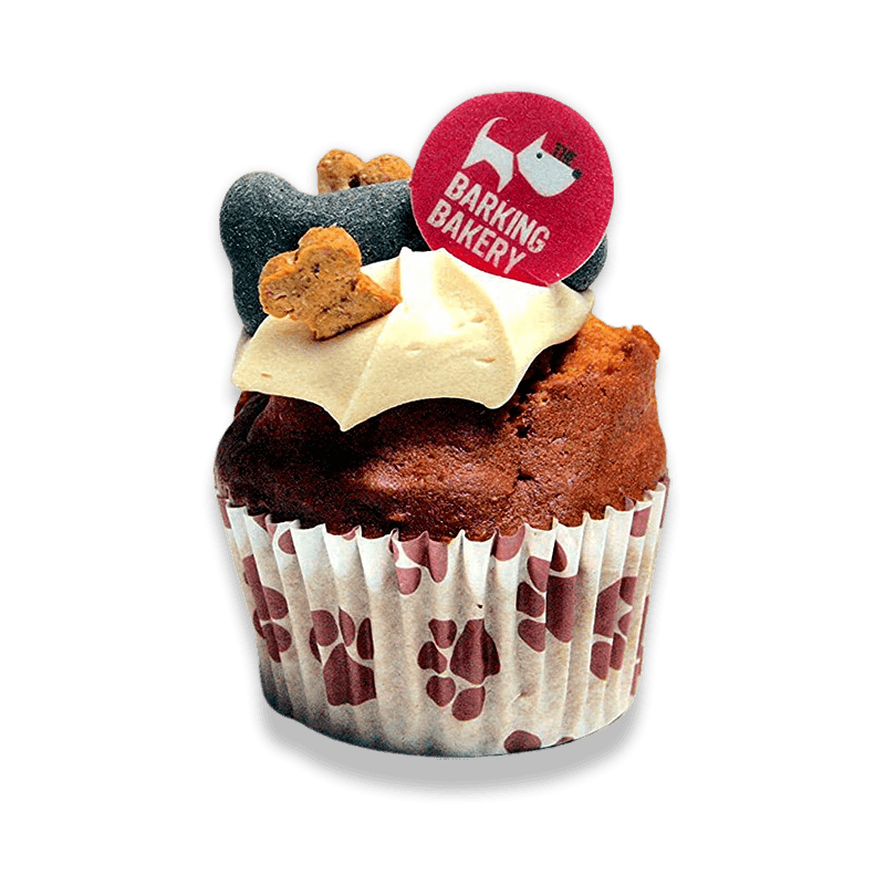 Iced Woofin Dog Cake 75g