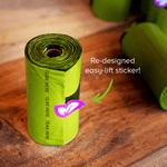 Load image into Gallery viewer, Earth Rated - Poop Bags 120 / Lavender Scented