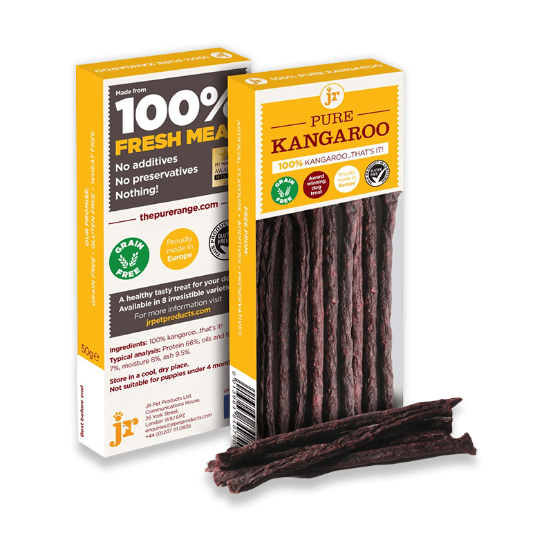 J R - Pure Meat Sticks in a Suitcase / 4 x 50 g