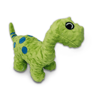 Squeaky Plush Dinosaur Dog Toy