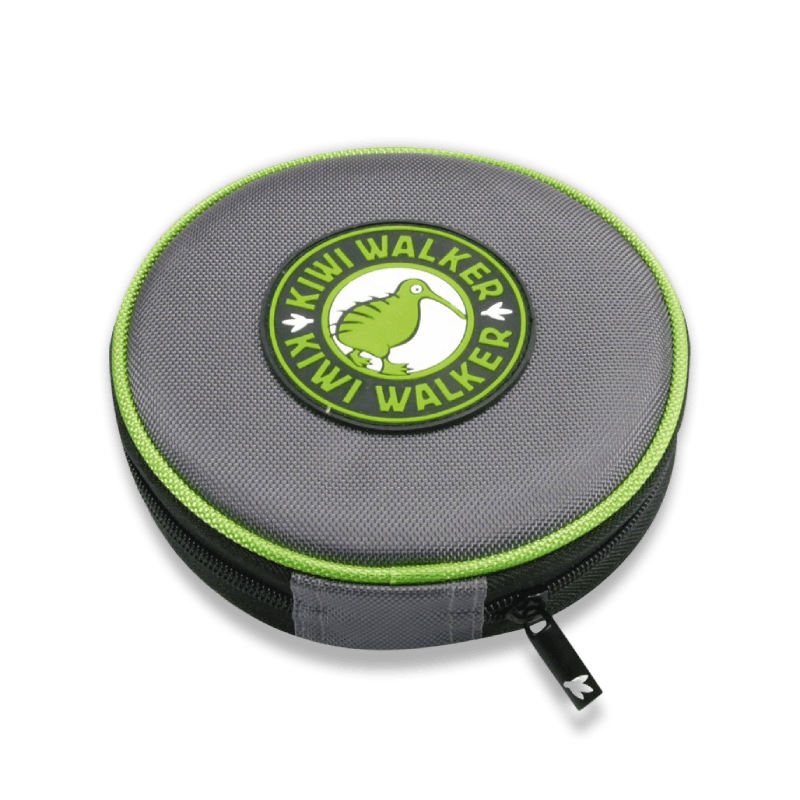 Kiwi Walker Double Travel Bowl In Case