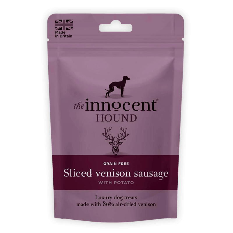 The Innocent Hound - Sliced Venison Sausage For Adult Dogs