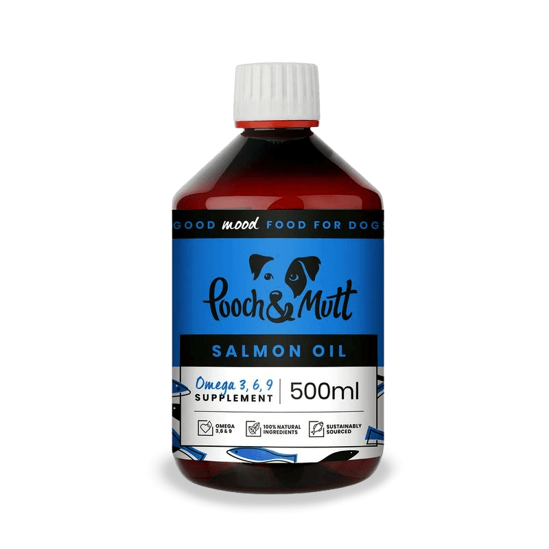 Pooch and Mutt - Salmon Oil For Dogs and Cats