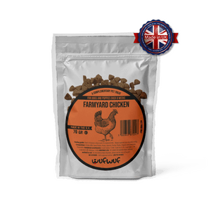 Wufwuf Farmyard Chicken Treat 70gr