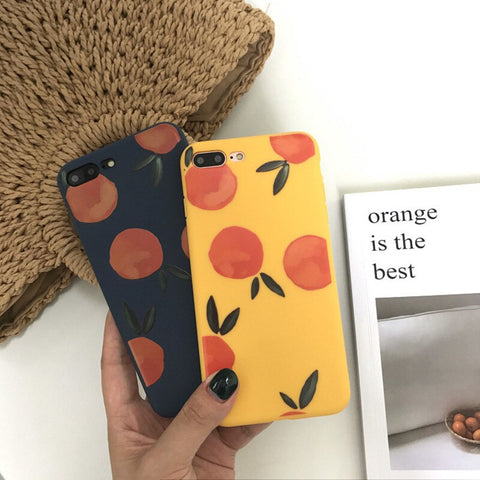 Retro Lovely Peach iPhone Case
