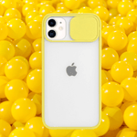 Yellow | iPhone Slide Camera Protection Case