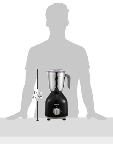 Load image into Gallery viewer, Philips HL775600 Mixer Grinder, 750W, 3 Jars (Black)